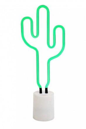 Cactus Neon Light Large