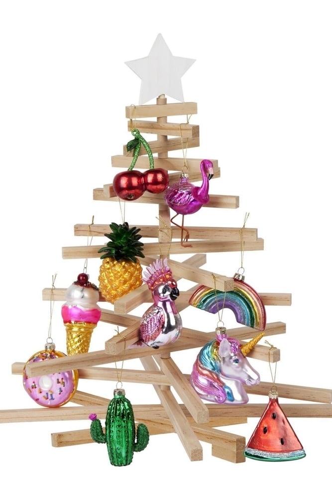 Cactus Christmas Tree.Festive Ornament Cactus