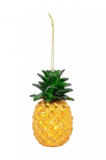 Festive Ornament Pineapple