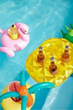 Inflatable Drinks Holder Pineapple