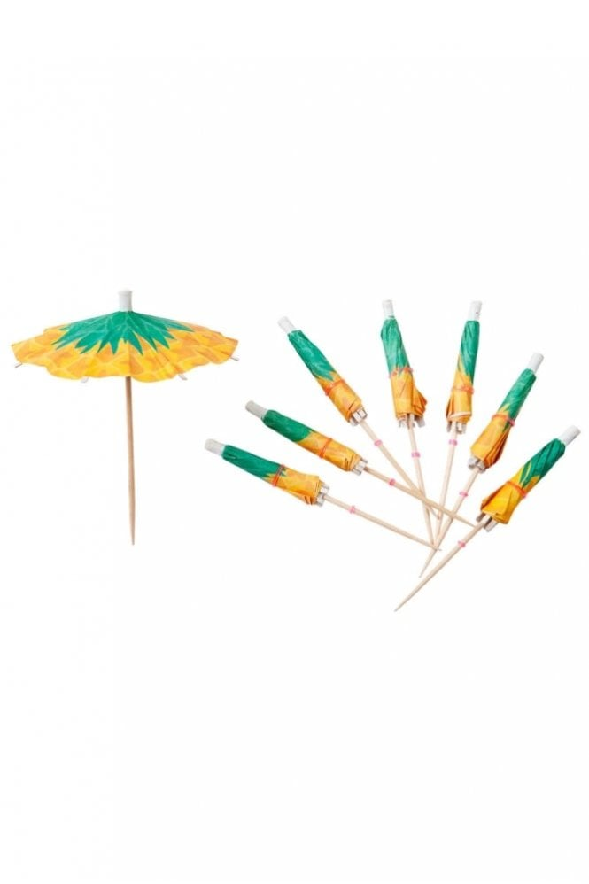 Sunnylife Pineapple Cocktail Umbrellas