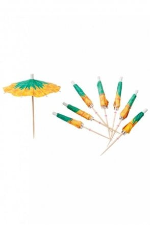 Pineapple Cocktail Umbrellas
