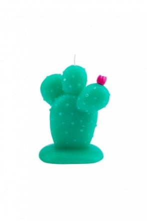 Round Cactus Candle Small