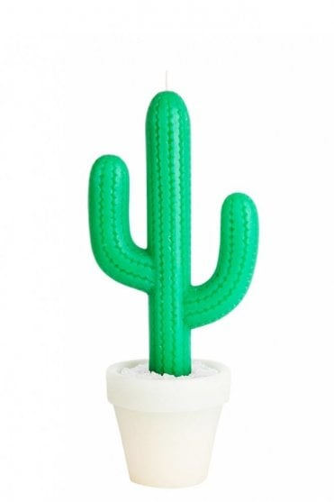 Tall Cactus Candle