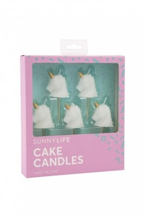 Unicorn Cake Candles