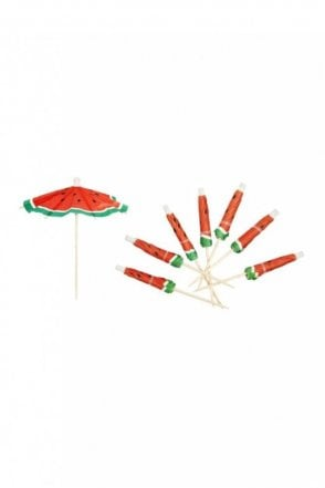 Watermelon Umbrellas