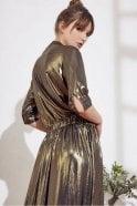 Swildens Sage Dress in Gold