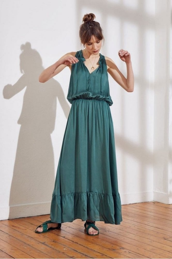 Swildens Sahara Dress in Green