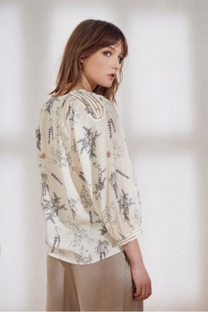 Saint Blouse in Ecru