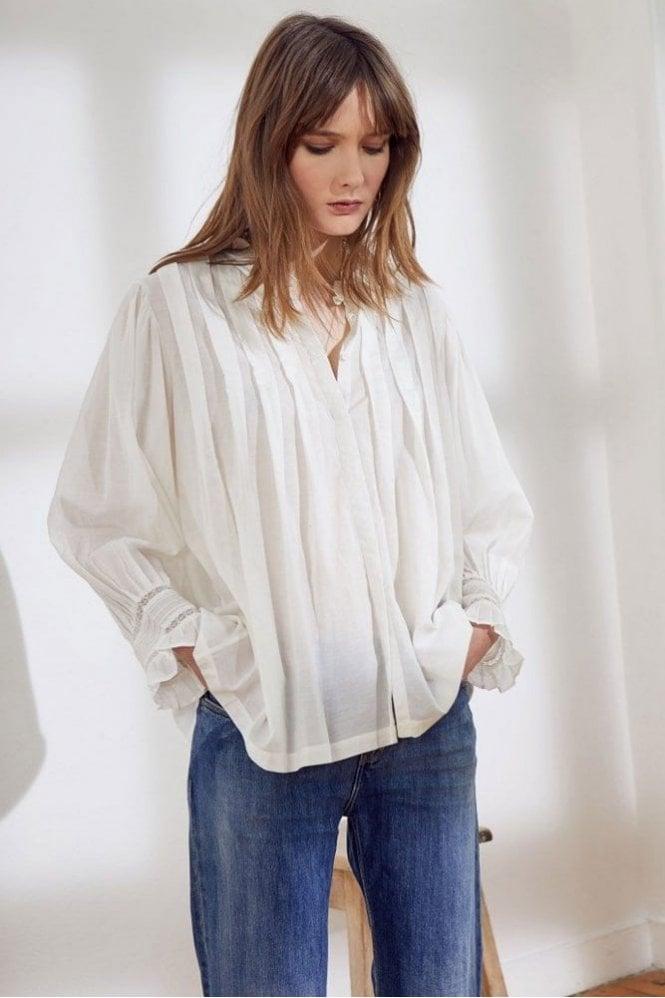 Swildens Sakura Shirt in Blanc