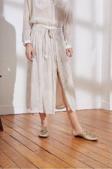 Santana Skirt in Ecru
