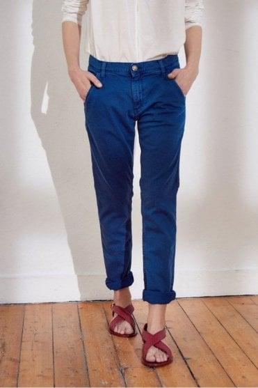 Syan Trousers in Bleu Klein