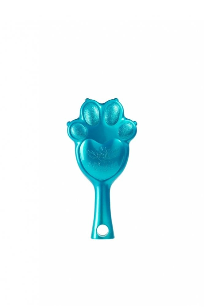Tangle Angel Pet Angel Mini Brush in Turquoise