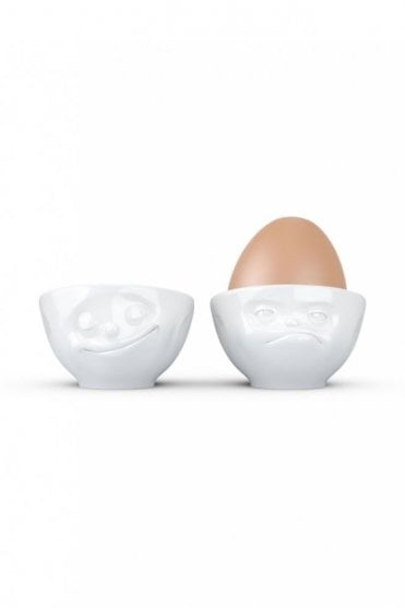 Happy & Hmpff Egg Cup Set