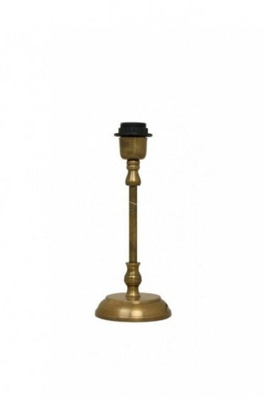 Mithun Lamp Base in Antique Bronze