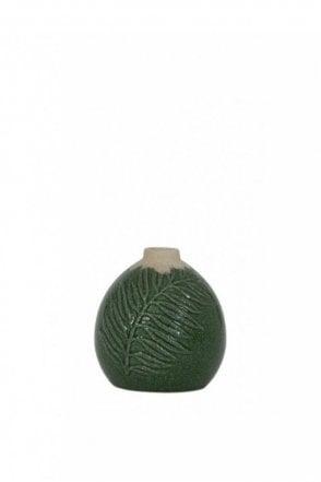 Polos Dark Green Vase