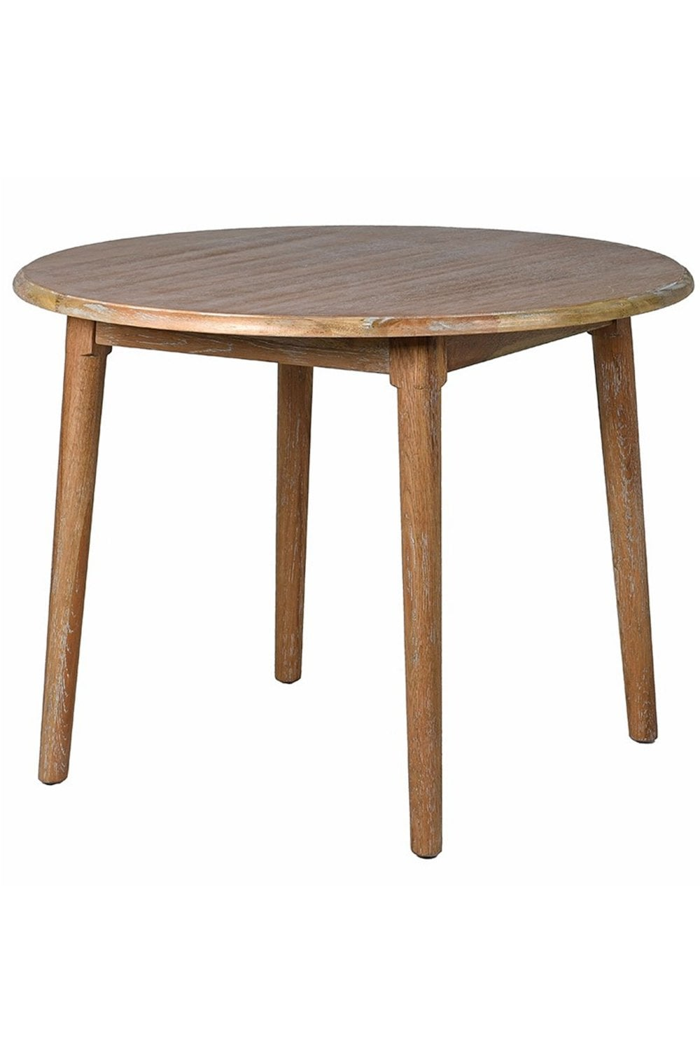 The Home Collection Round Oak Table At Sue Parkinson