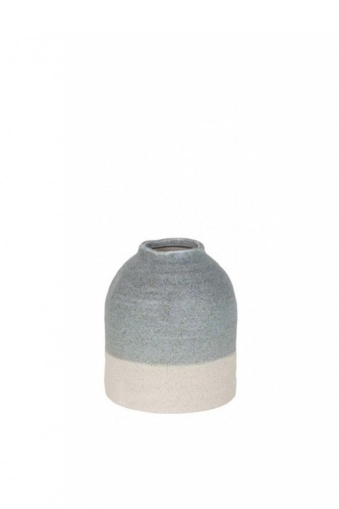 The Home Collection Tarcolez Light Blue and White Pot