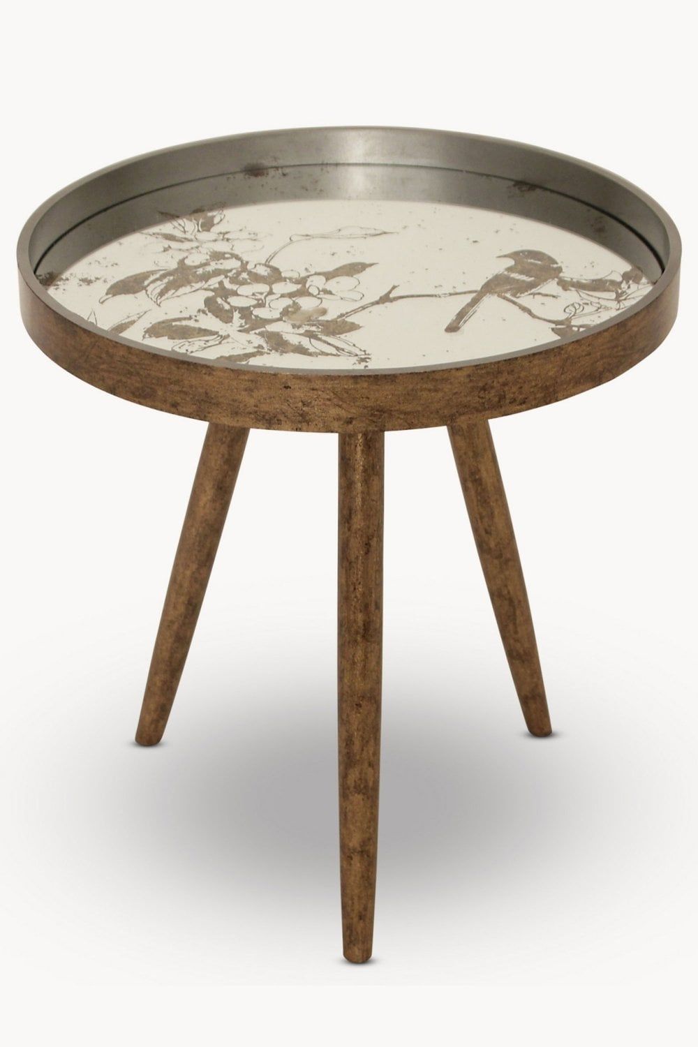 Awe Inspiring The Home Collection Waltham Bird Pattern Side Table Uwap Interior Chair Design Uwaporg