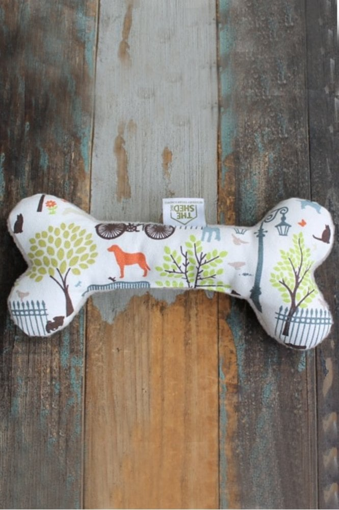 The Shed Inc Days in The Park Dog Bone Toy