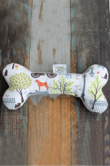 Days in The Park Dog Bone Toy