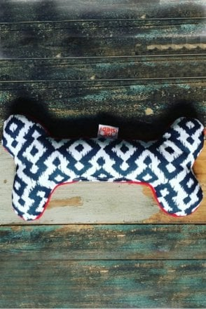Mono Aztec Dog Bone Toy
