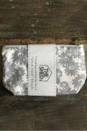 The Shed Inc Slate Daisy Cotton Make Up Bag