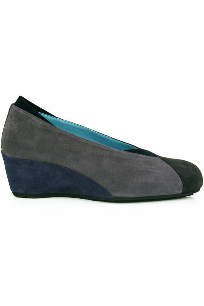 Thierry Rabotin 3 Colour Suede Wedge