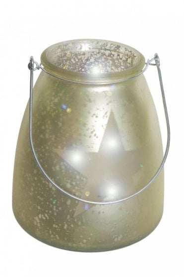 LED Glass Jar