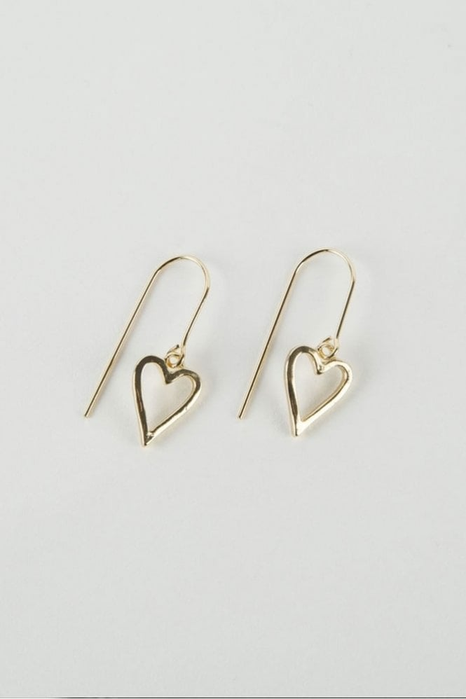 Tutti & Co Gold Adore Earrings
