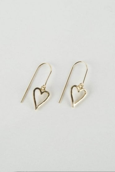 Gold Adore Earrings