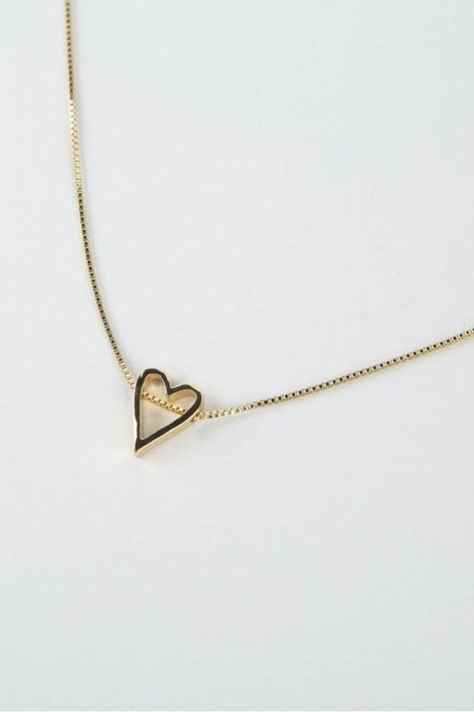 Tutti & Co Gold Adore Necklace
