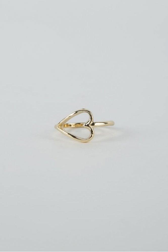 Tutti & Co Gold Adore Ring
