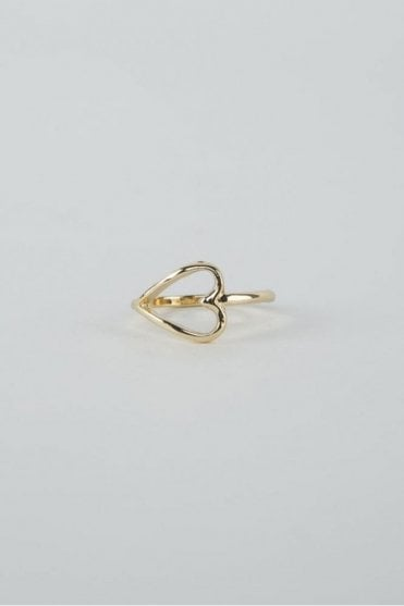 Gold Adore Ring