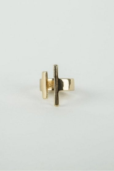Gold Concept Ring