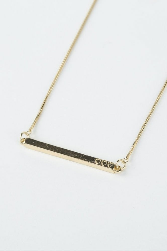 Tutti & Co Gold Desire Necklace