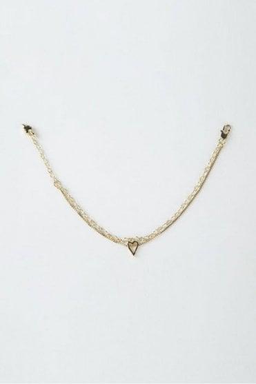 Gold Faith Bracelet