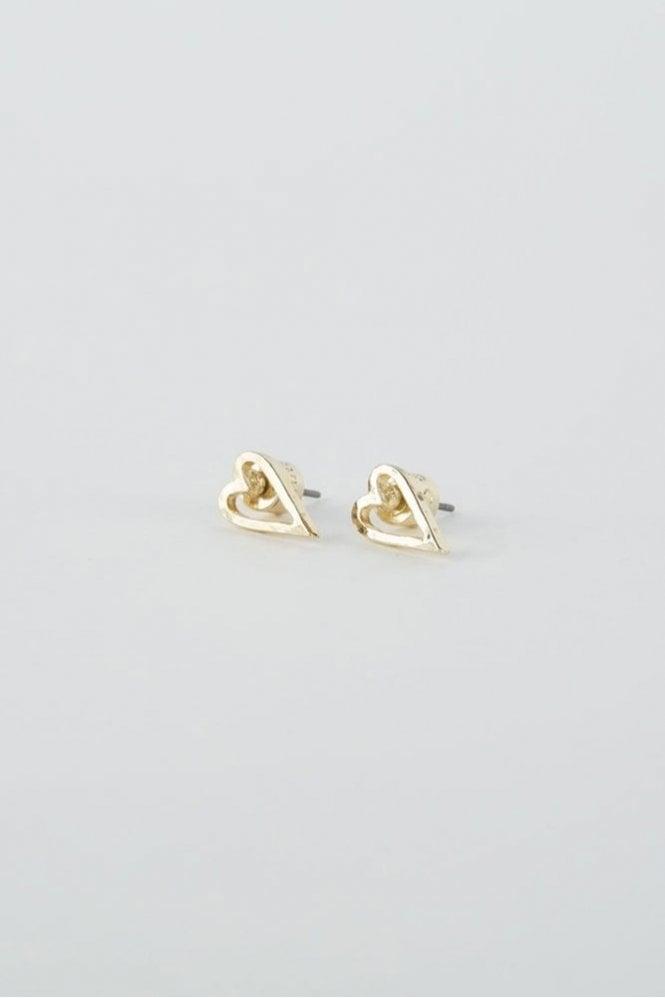 Tutti & Co Gold Faith Earrings