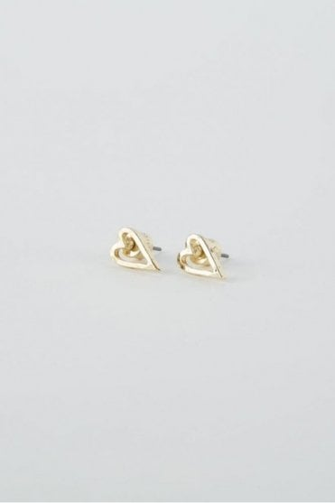 Gold Faith Earrings