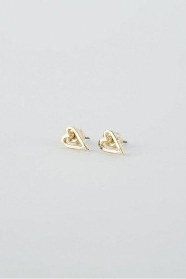 Gold Faith Earrings