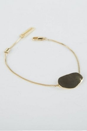 Gold Pebble Bracelet