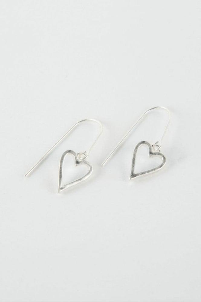 Tutti & Co Silver Adore Earrings
