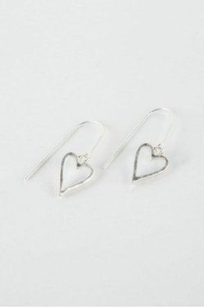 Silver Adore Earrings