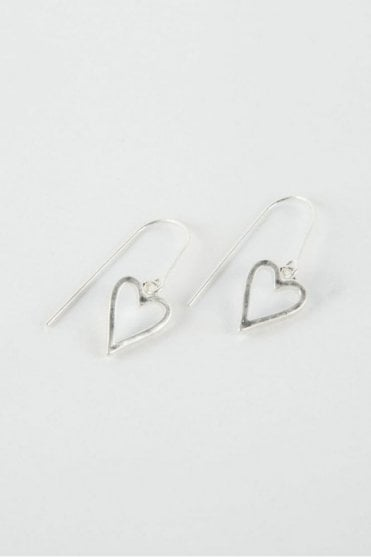 Silver Adore Earrings