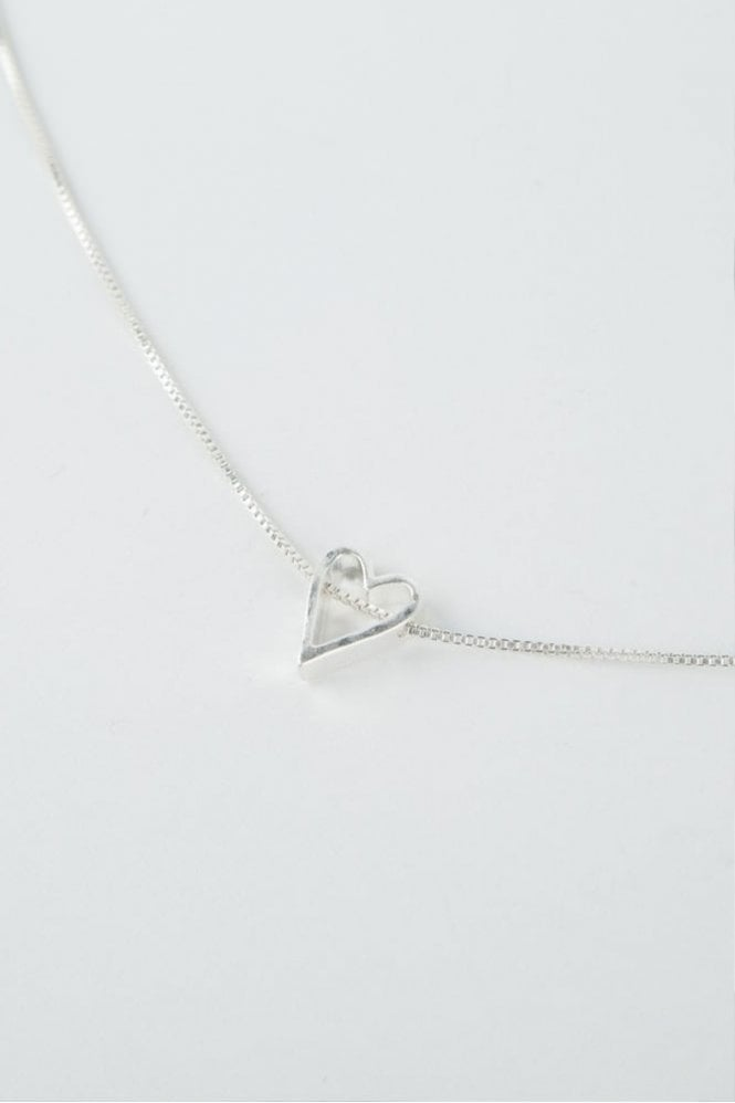 Tutti & Co Silver Adore Necklace
