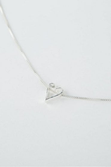 Silver Adore Necklace