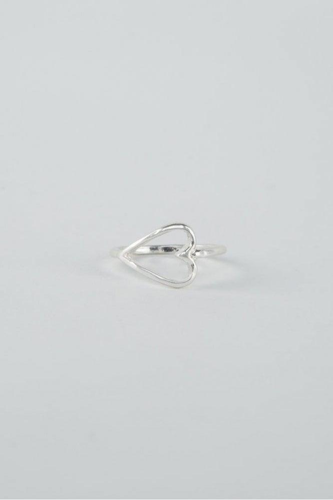 Tutti & Co Silver Adore Ring