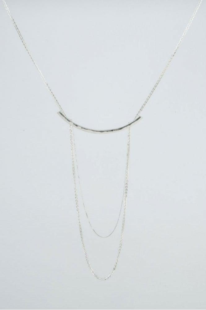 Tutti & Co Silver Drift Necklace