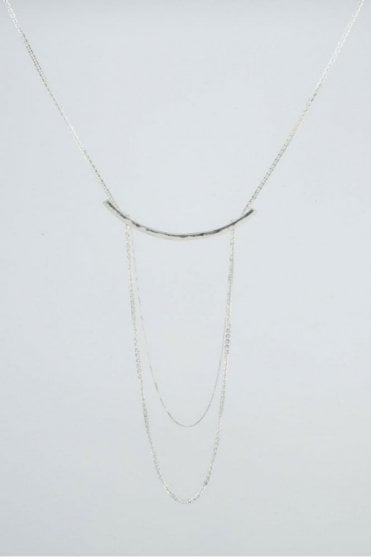 Silver Drift Necklace