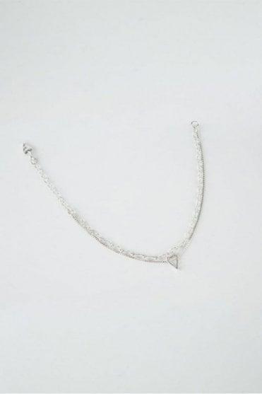 Silver Faith Bracelet